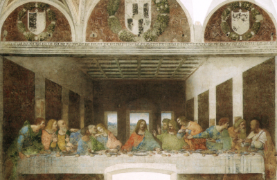 Last Supper in Milan - Leonardo da Vinci
